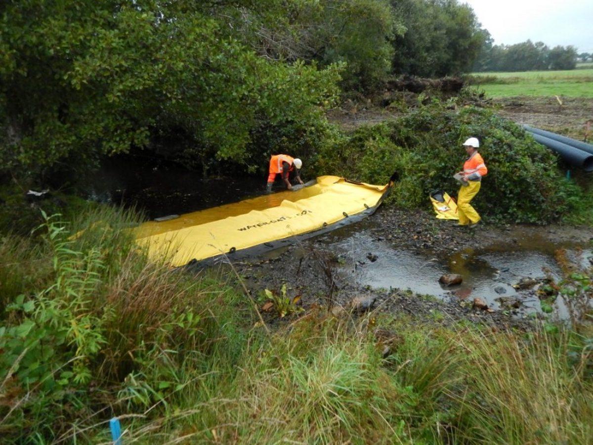 Retours d'expérience sur la protection des milieux aquatiques en phase chantier